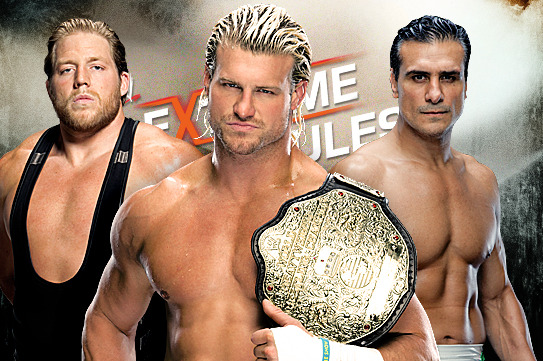 WWE Extreme Rules 2013: Who Does the Ladder Match Stipulation Help Most?