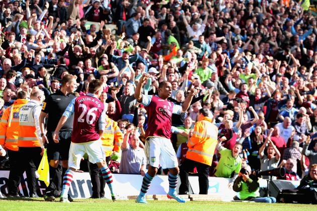 Why Aston Villa Have Been the Premier League's Most Fun Side to Watch in 2012-13