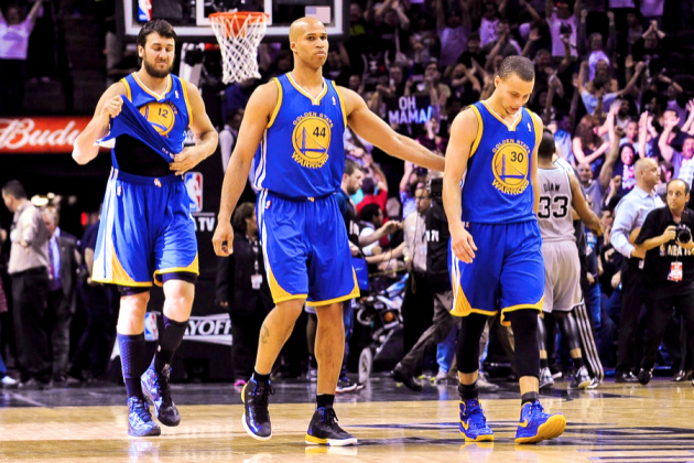 Warriors vs. Spurs: Can Golden State Bounce Back from Game 1 Choke Job?