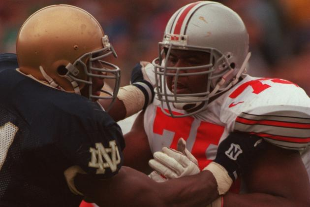 Ohio State Football: Former OSU Great Orlando Pace Voted into CFB Hall of Fame