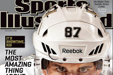 Returning Sidney Crosby Claims Cover of Sports Illustrated
