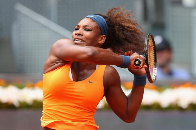Madrid: Serena to 3rd Round in Title Defense