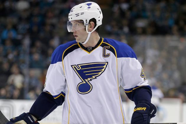 Blues Captain Backes: 'We've Got Some Soul-Searching to Do'