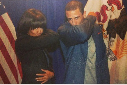 Colin Kaepernick Meets Michelle Obama, First Lady Gets in on Kaepernicking Craze