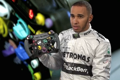 Video: Hamilton Explains How Steering Wheels Work