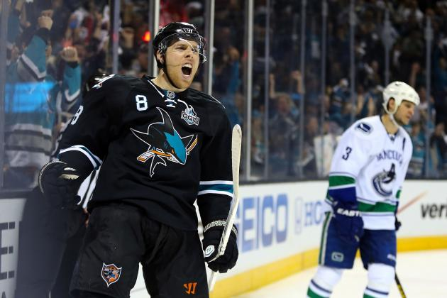 San Jose Sharks' Top Players Are at the Top of Their Games
