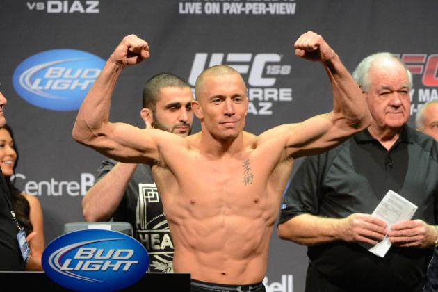 GSP to Lightweight? Does GSP Have Zero Interest in the Anderson Silva Fight?