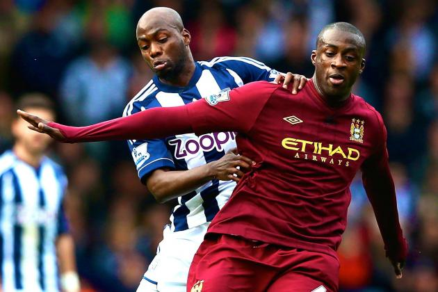 Manchester City vs. West Brom: Premier League Live Score, Highlights, Recap