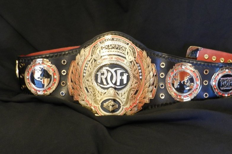 Wrestling Gold: The History of the ROH World Heavyweight ...