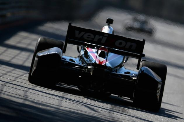 Penske Racing Suspensions Reduced to 2 Points