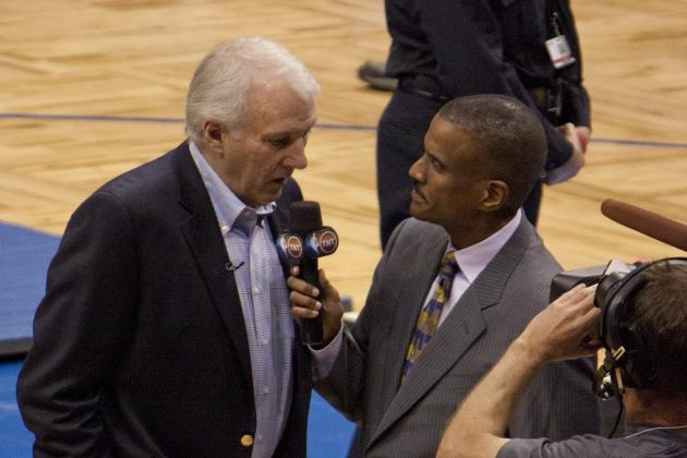 Gregg Popovich Actually Wanted a Second Question from David Aldridge