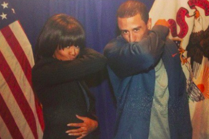 Colin Kaepernick Met Michelle Obama and It Made for a Fabulous Photo