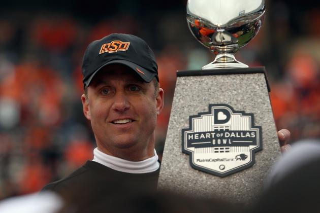 Mike Gundy Gives His Opinion on the Newly Formed College Football Playoff