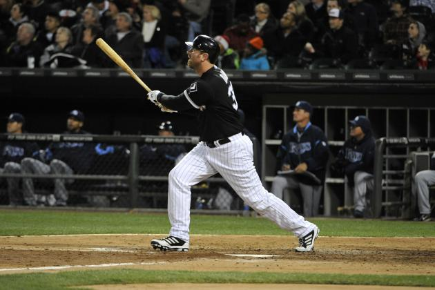 Konerko Out, Dunn at First for Mets Game