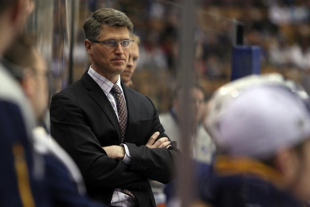 Buffalo Sabres Keep Ron Rolston as Head Coach