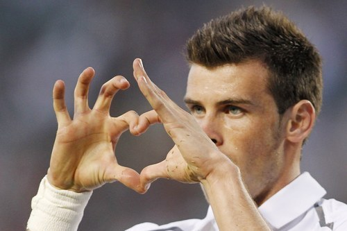 Gareth Bale Trying to Trademark Celebration