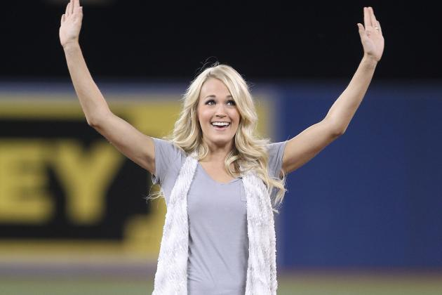 Carrie Underwood Replaces Beloved 'Sunday Night Football' Star Faith Hill