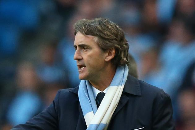 Roberto Mancini Happy to See Manchester City Edge out West Brom