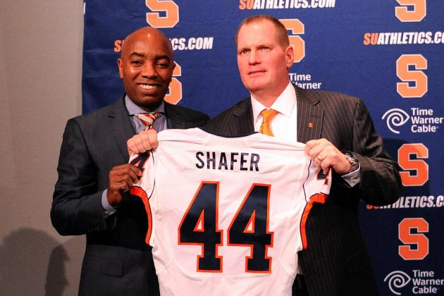 Syracuse Football Coach Scott Shafer Addresses His Special Teams