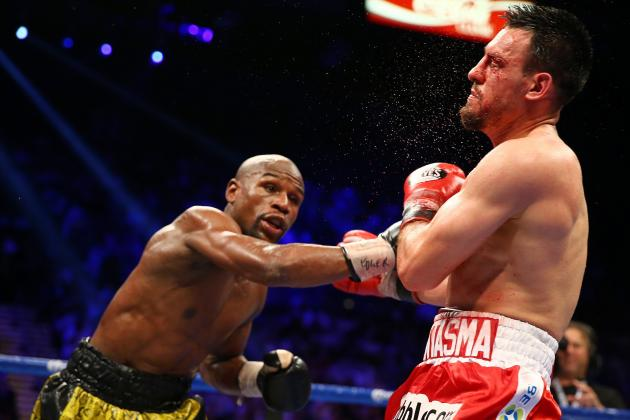 Mayweather vs. Guerrero Results: Ranking Money's Performance with Year's Best