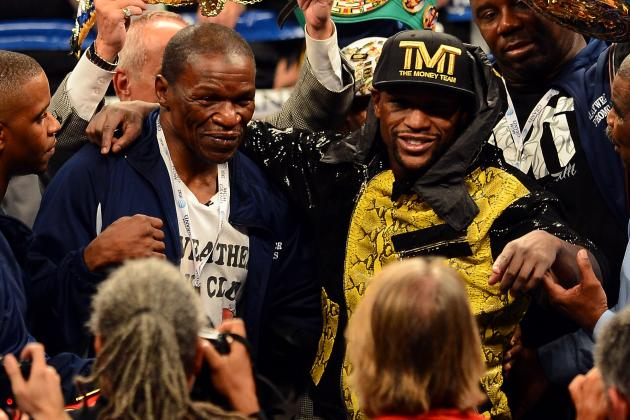 Mayweather vs. Guerrero Fight: Floyd, Sr. Is Key To Money's Peerless Defense