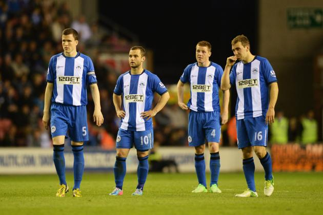 Wigan's Survival Dream Now a Distant Hope After Loss to Swansea