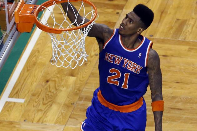 Video: Knicks' Shumpert Throws Down Monster Putback Dunk