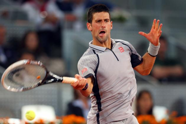 Novak Djokovic's Ankle Injury Won't Harm His French Open Chances