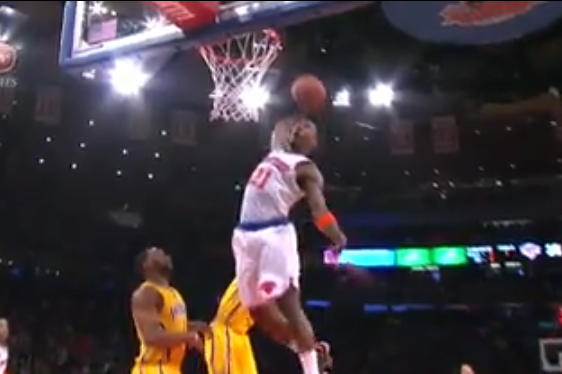 Shump Soars for Rattling Putback