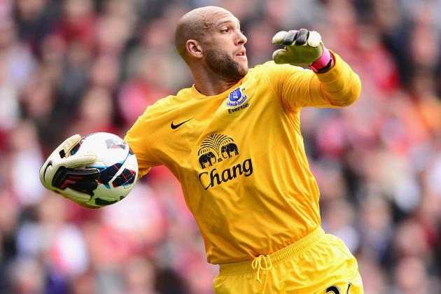 Tim Howard Vows Everton FC Will Keep Trying