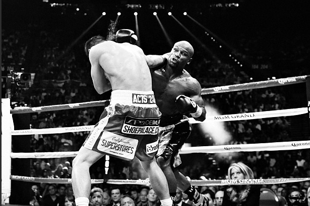 Mayweather vs. Guerrero Fight: Most Telling Images From Saturday Night