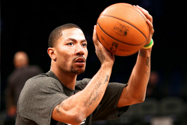Derrick Rose Reportedly May Suit Up for Game 3 vs. Heat