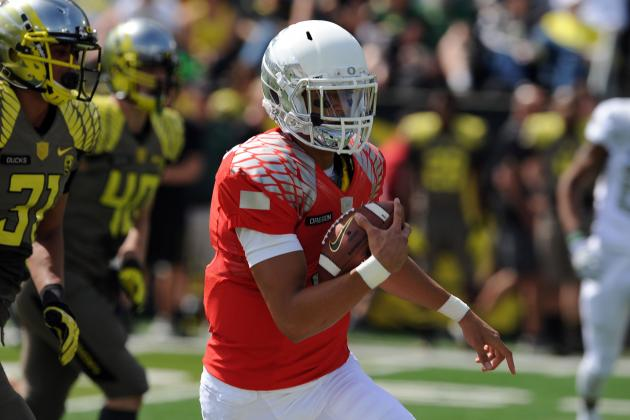 Oregon Football: Projecting Marcus Mariota's Stats in 2013