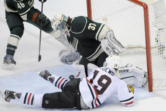 ESPN Gamecast: Blackhawks vs. Wild