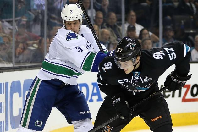 ESPN Gamecast: Sharks vs. Canucks
