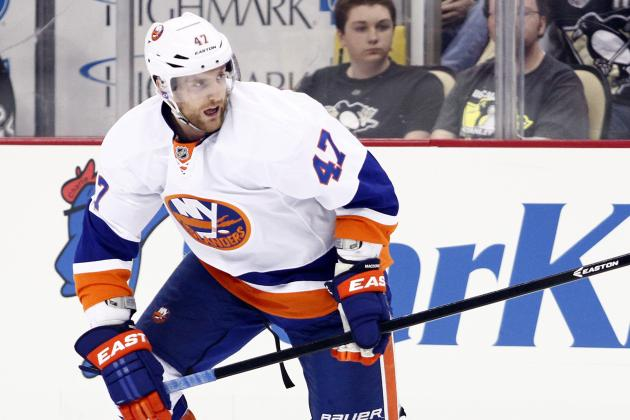 Islanders' MacDonald Leaves with Injury