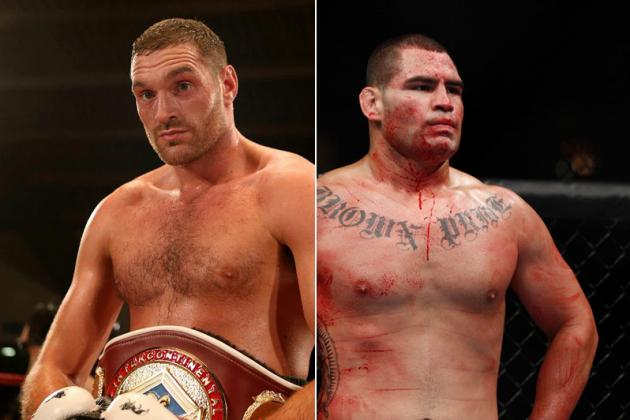 Tyson Fury Wants Big Payday for UFC Fight, Says Cain Velasquez Is 'A Little Boy'
