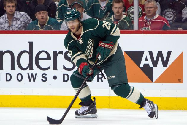 Pominville, Dowell in Lineup for Wild