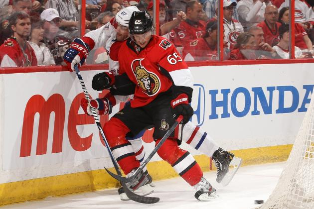 Turris Scores in OT to Give Senators 3-1 Series Lead