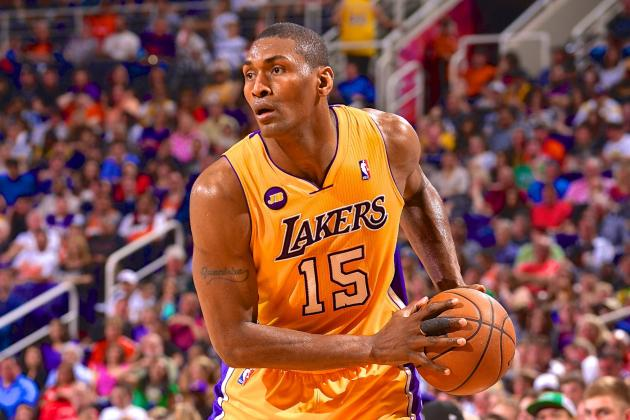 Metta World Peace's In-Game Tweeting Is a Thing of Beauty
