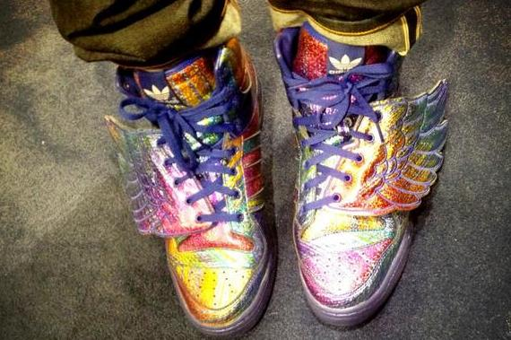 Iman Shumpert's Shoes Are Absolutely Incredible