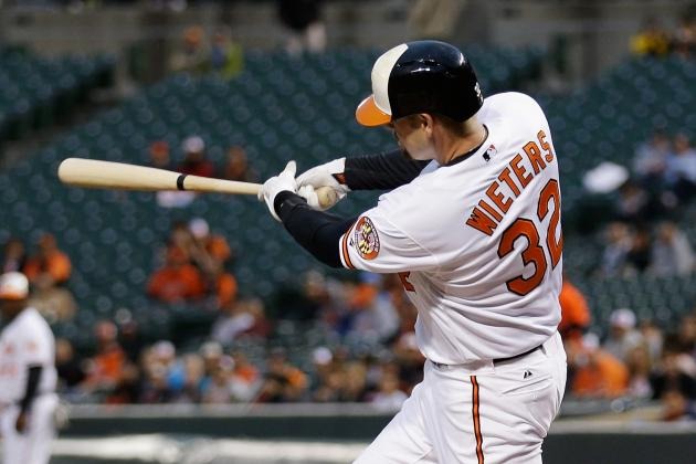 Matt Wieters Drives in 3 Runs as Orioles Beat Kansas City Royals, 4-3