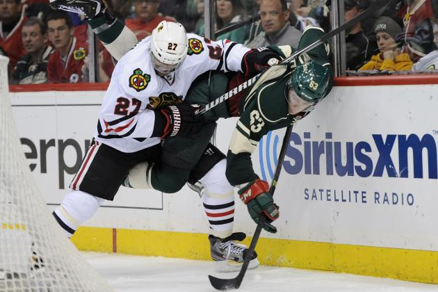 Blackhawks Take 3-1 Lead on Depleted Wild