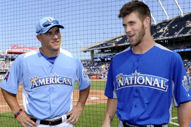 Signs That Bryce Harper Is Still Developing While Mike Trout Has Peaked