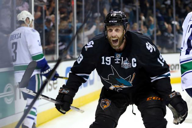 Sharks Edge Canucks in OT, Sweep Series