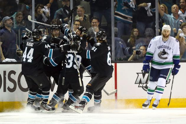 Patrick Marleau Wins It in OT Video\