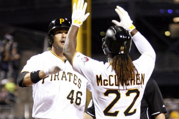 Gomez, McCutchen Lead Pirates over Mariners
