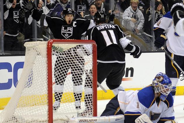 Los Angeles Kings vs. St. Louis Blues: Series Review and Game 5 Preview