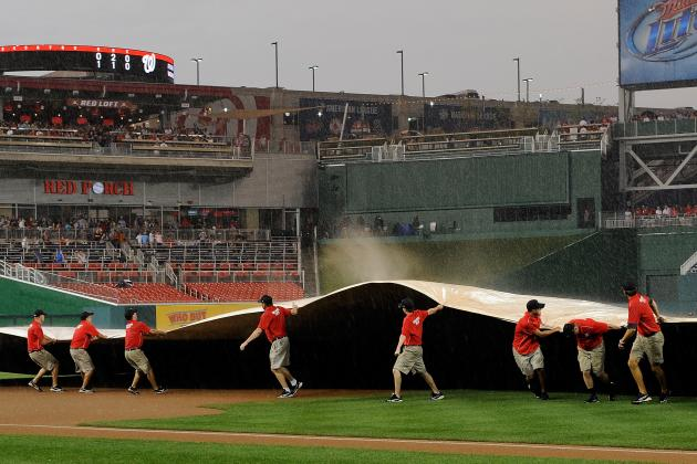 On the Nationals' New Rainout Ticket Policy