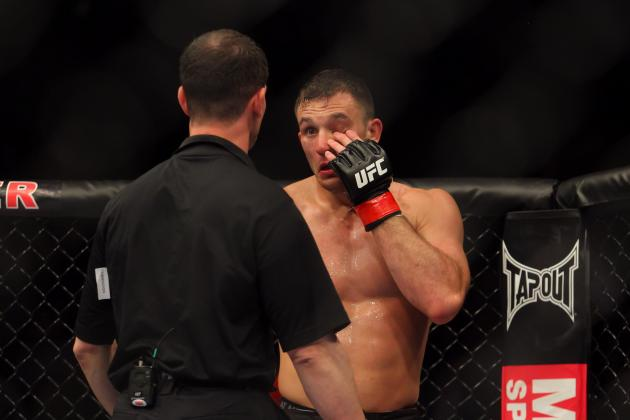 UFC Looking to Implement New Gloves to Reduce Eye Pokes